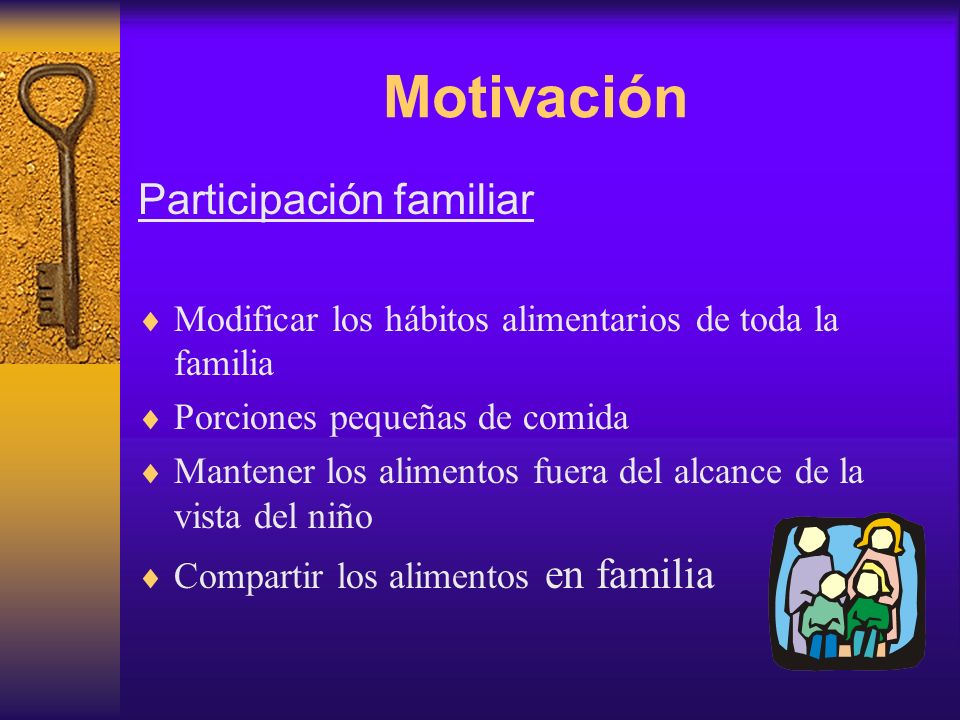 Motivación Participación familiar