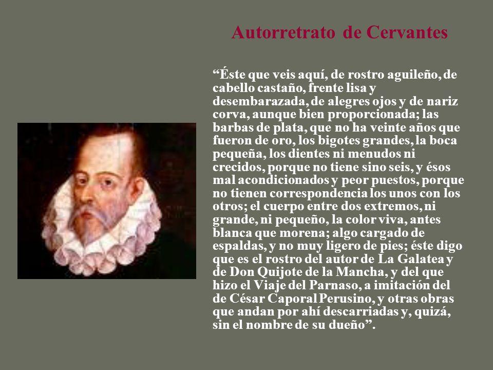 Autorretrato de Cervantes