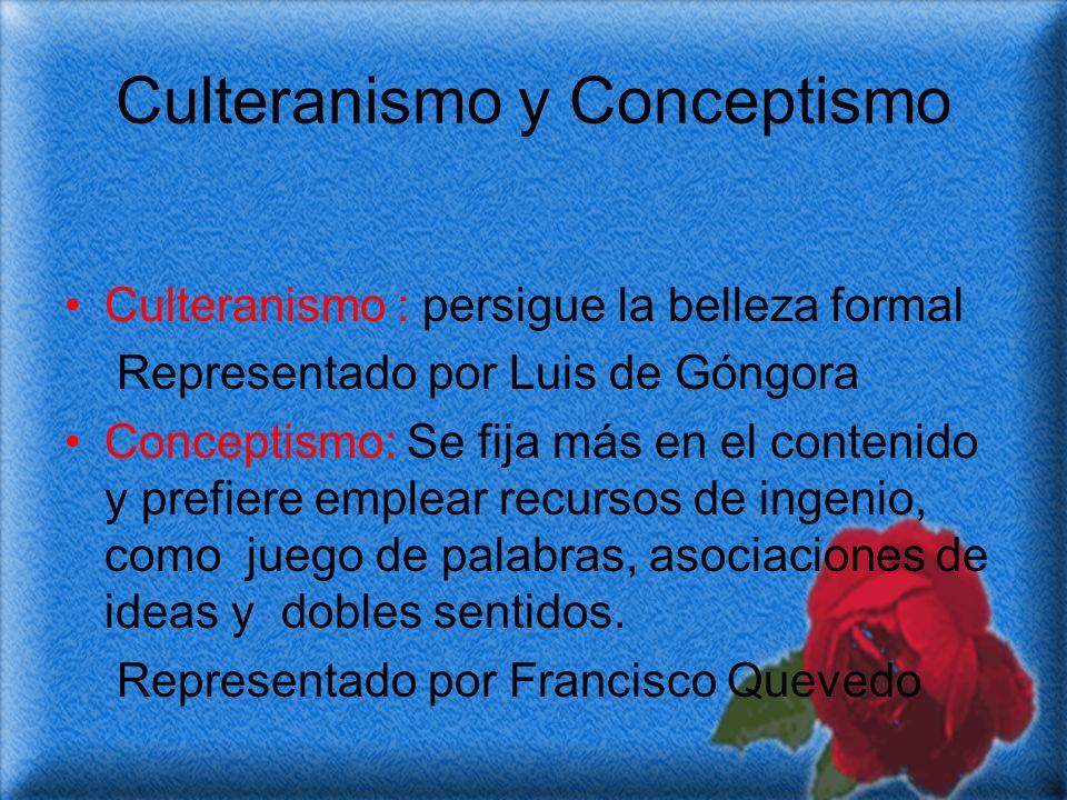 Culteranismo y Conceptismo