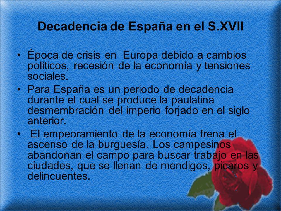 Decadencia de España en el S.XVII