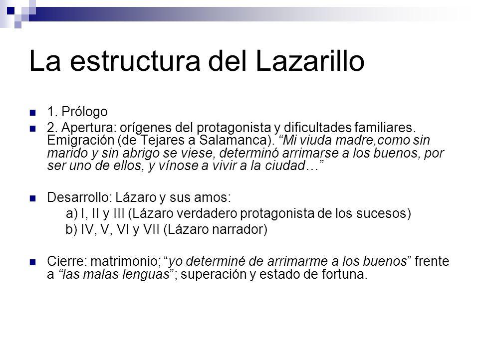 La estructura del Lazarillo