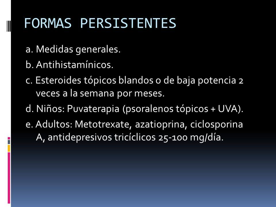 FORMAS PERSISTENTES
