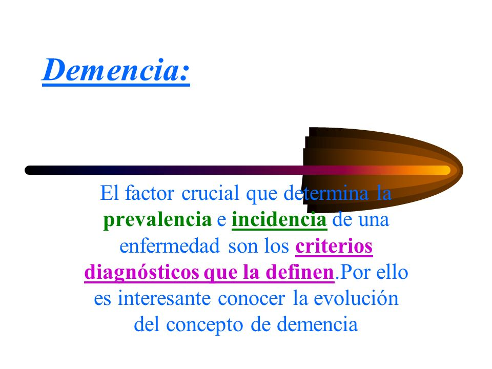 Demencia: