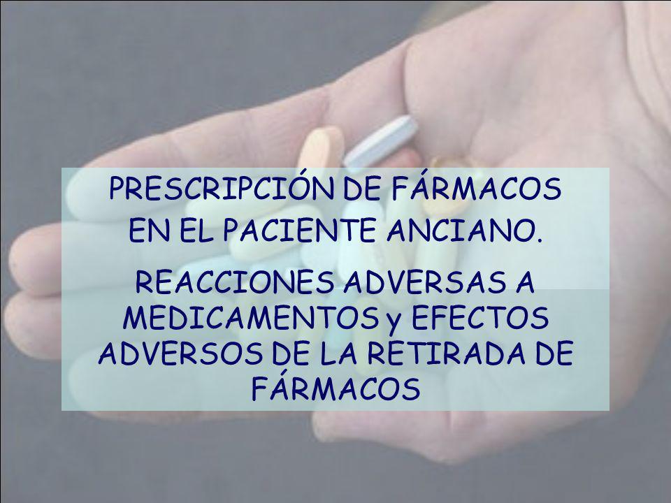 PRESCRIPCIÓN DE FÁRMACOS