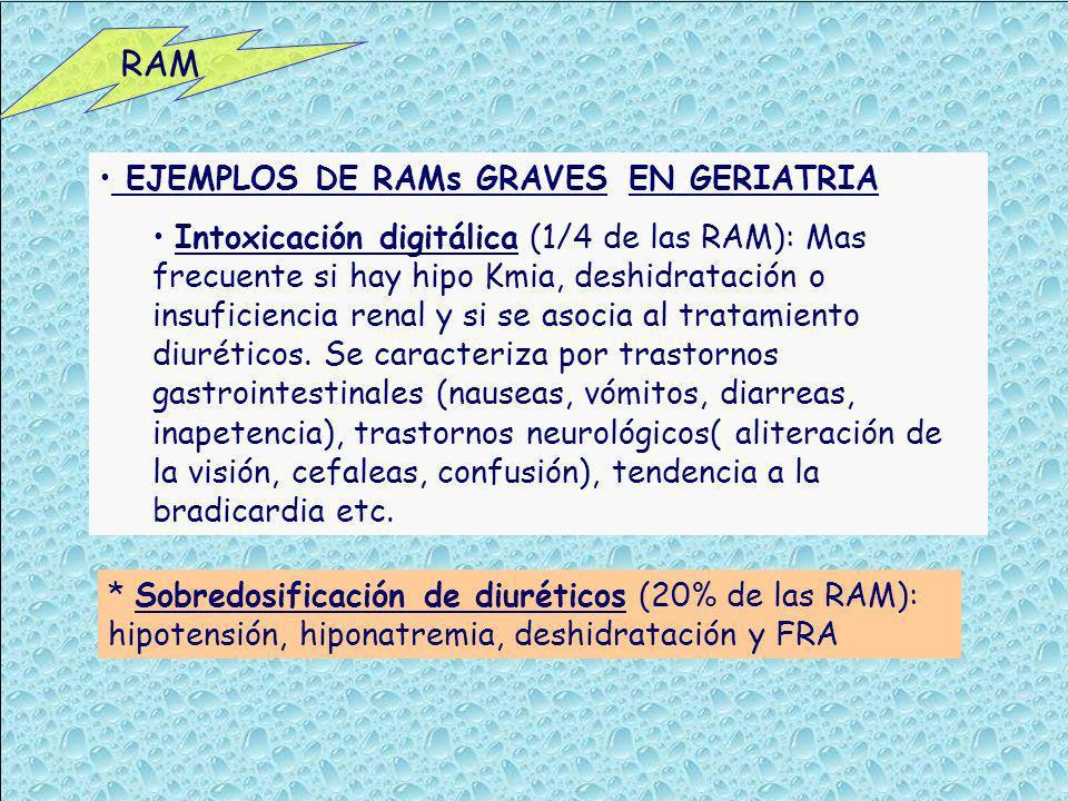 RAM EJEMPLOS DE RAMs GRAVES EN GERIATRIA