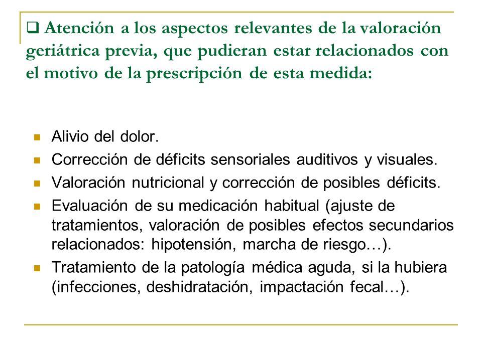 Corrección de déficits sensoriales auditivos y visuales.