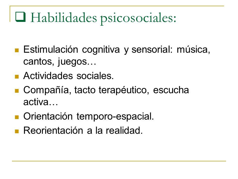 Habilidades psicosociales: