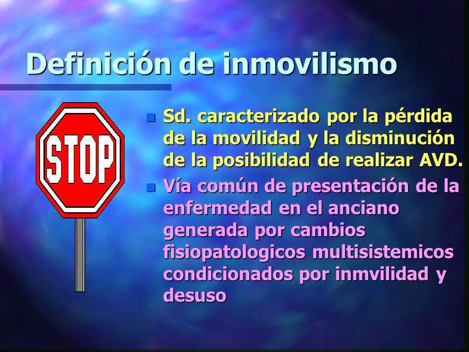 Definición de inmovilismo