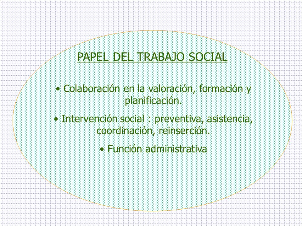 PAPEL DEL TRABAJO SOCIAL