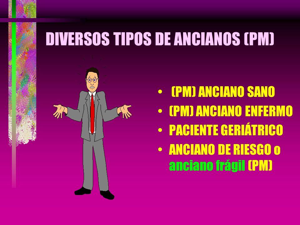 DIVERSOS TIPOS DE ANCIANOS (PM)