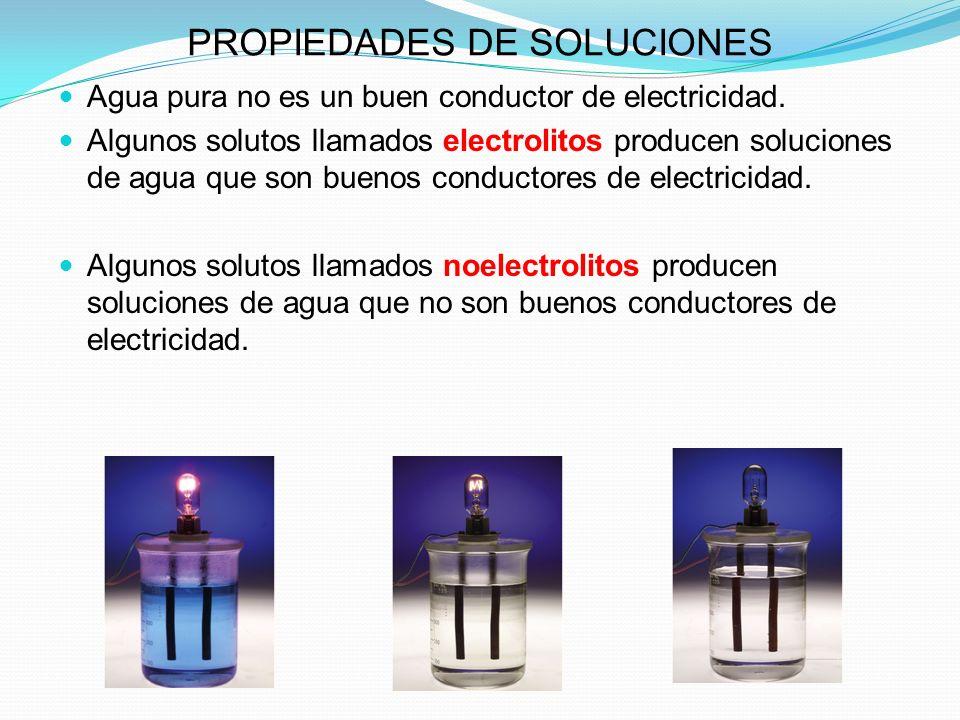 PROPIEDADES DE SOLUCIONES