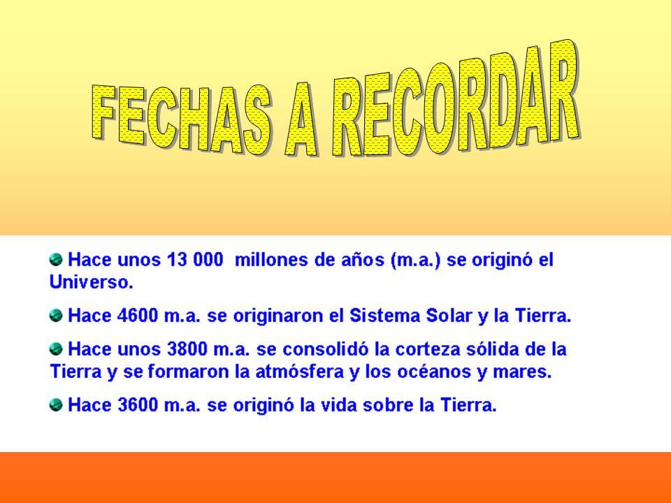 FECHAS A RECORDAR