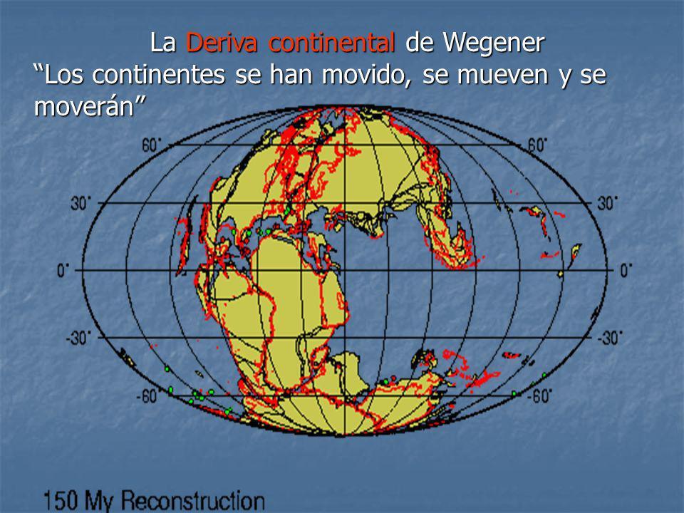 La Deriva continental de Wegener