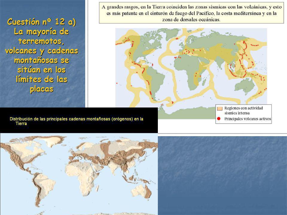 La mayoría de terremotos,