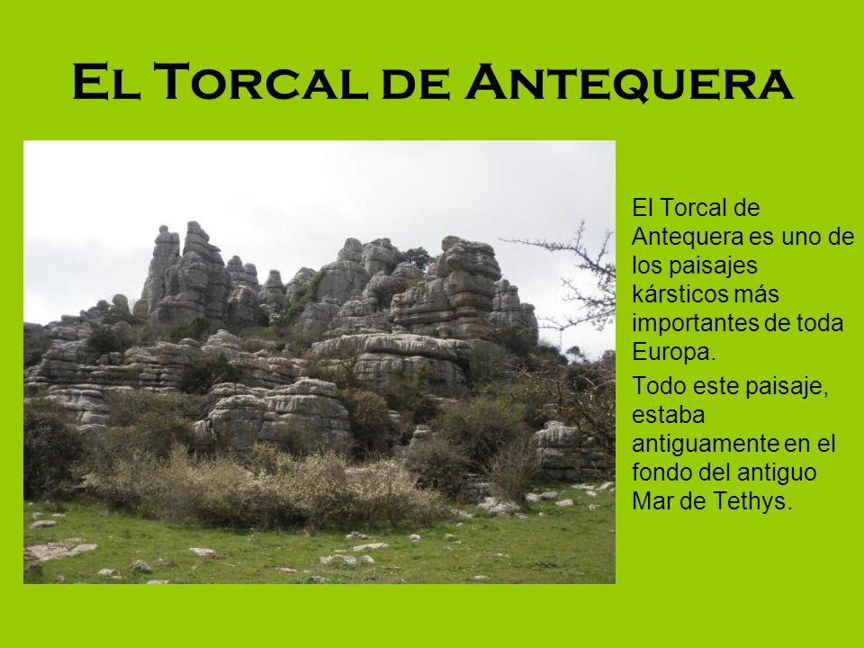 El Torcal de Antequera El Torcal de Antequera es uno de los paisajes kársticos más importantes de toda Europa.