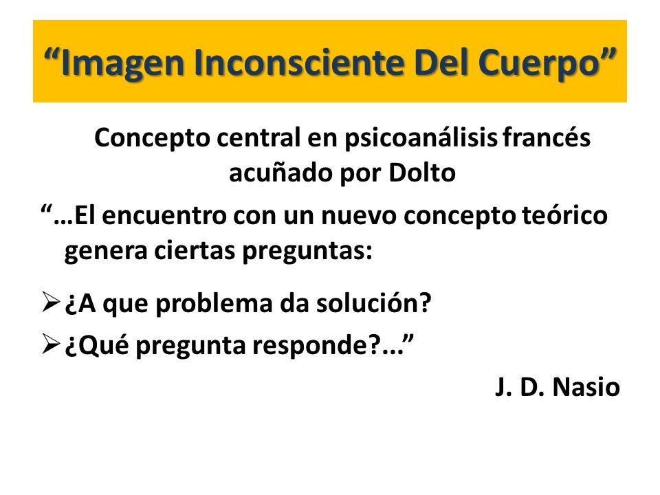 Imagen Inconsciente Del Cuerpo