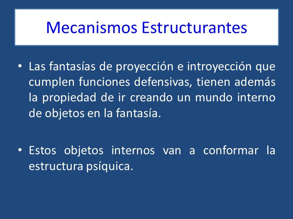 Mecanismos Estructurantes
