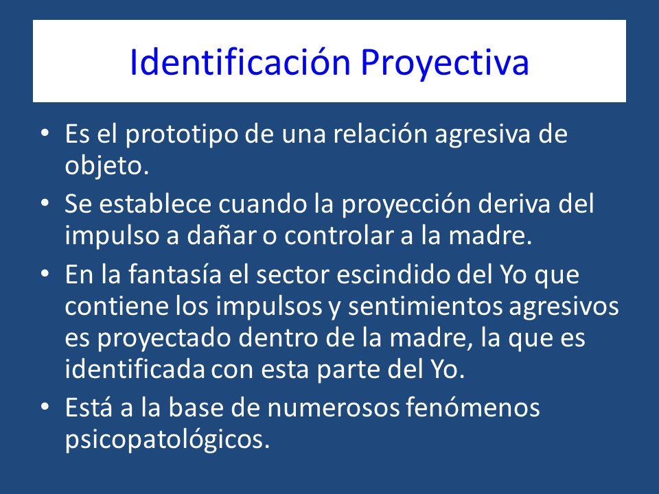 Identificación Proyectiva