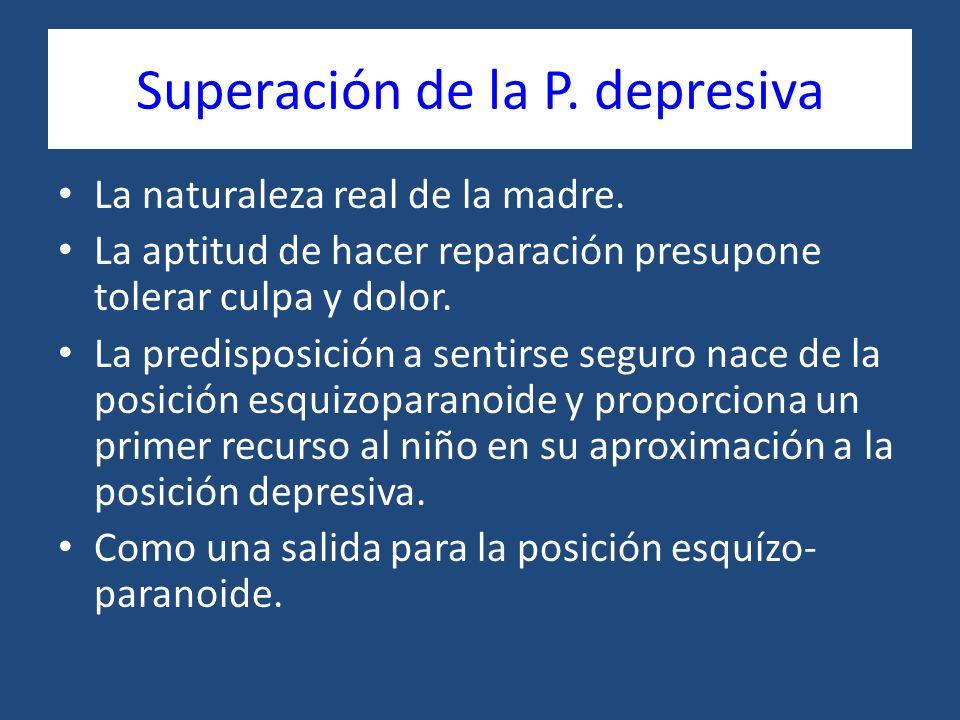 Superación de la P. depresiva