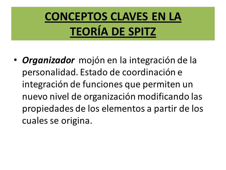 CONCEPTOS CLAVES EN LA TEORÍA DE SPITZ