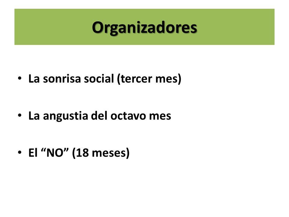 Organizadores La sonrisa social (tercer mes)