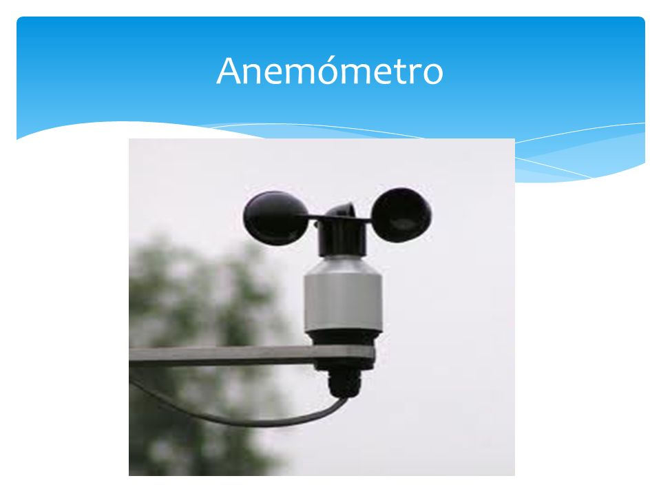 Anemómetro