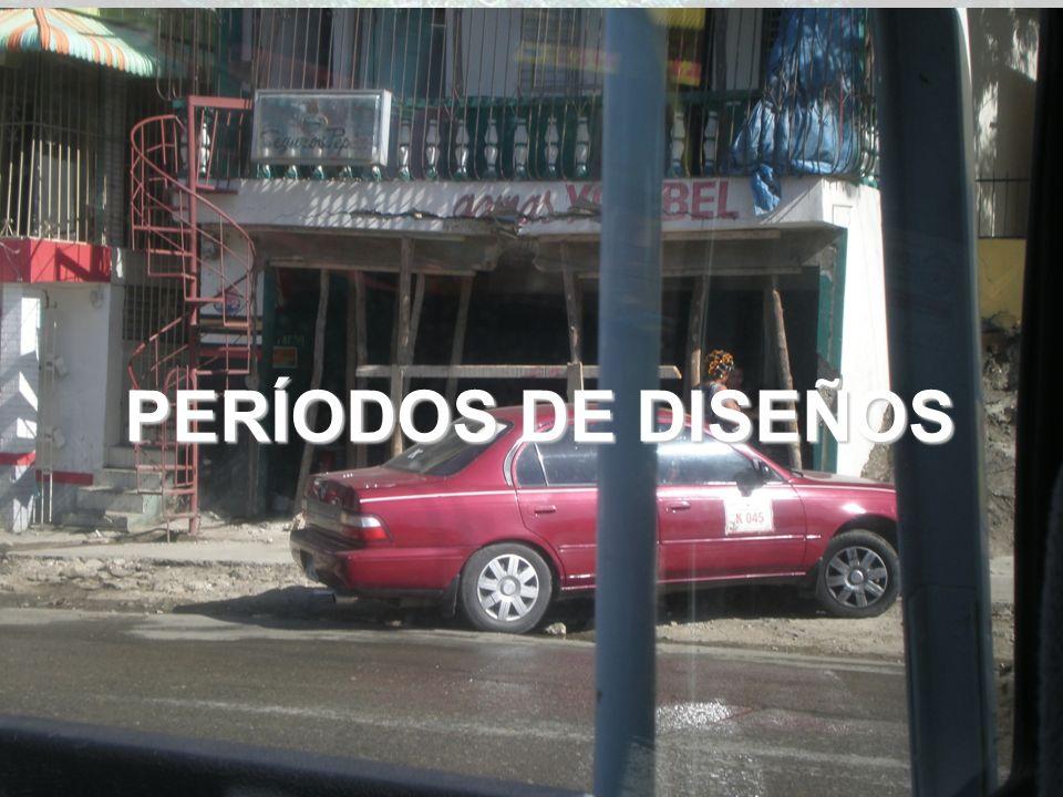 PERÍODOS DE DISEÑOS 25