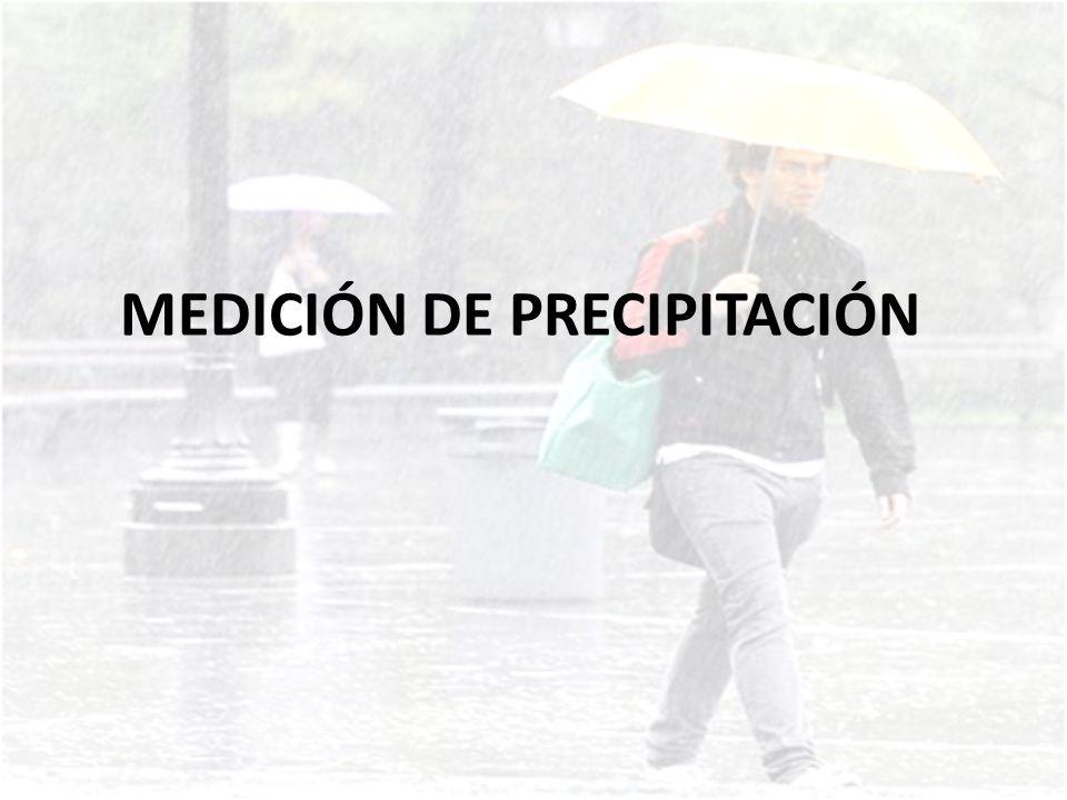 MEDICIÓN DE PRECIPITACIÓN