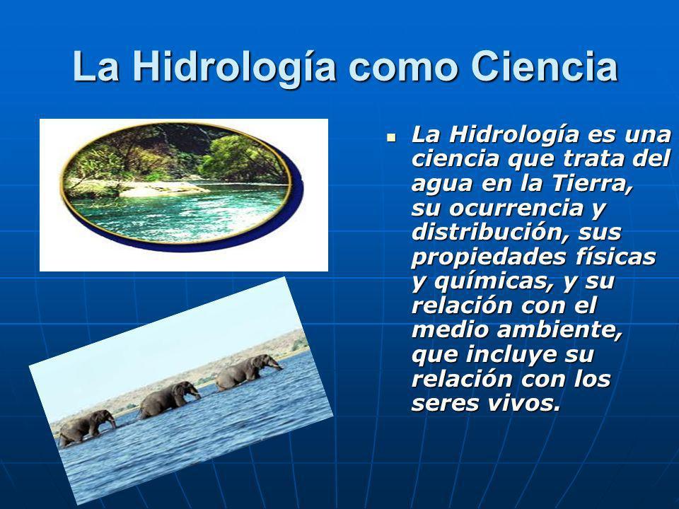 La Hidrología como Ciencia