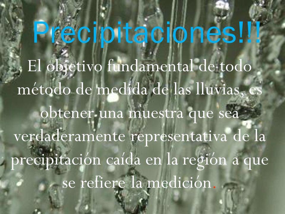 Precipitaciones!!!