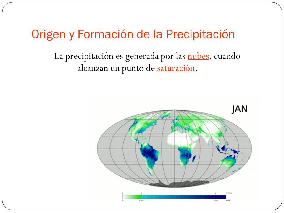Origen y Formación de la Precipitación