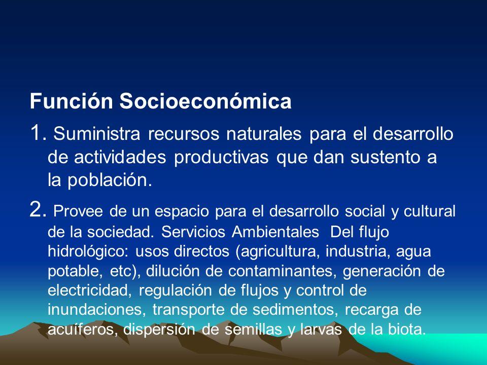 Función Socioeconómica 1