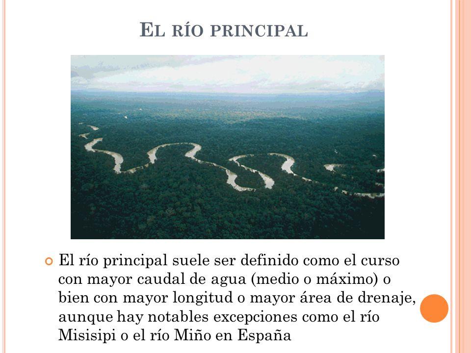 El río principal