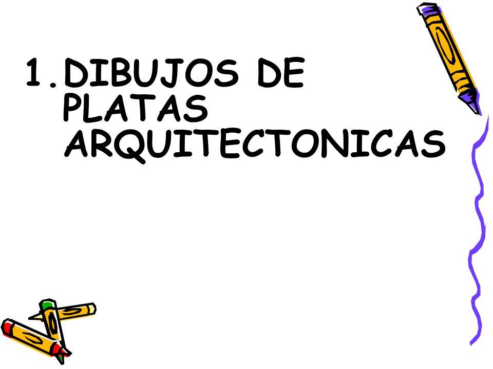 DIBUJOS DE PLATAS ARQUITECTONICAS
