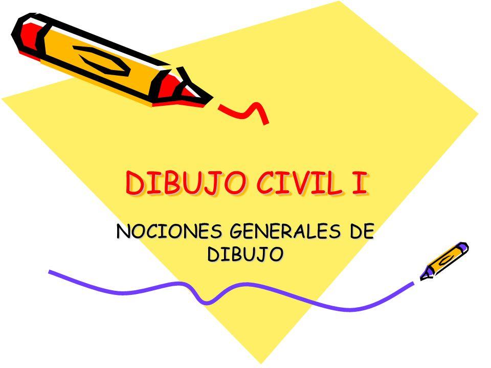 NOCIONES GENERALES DE DIBUJO