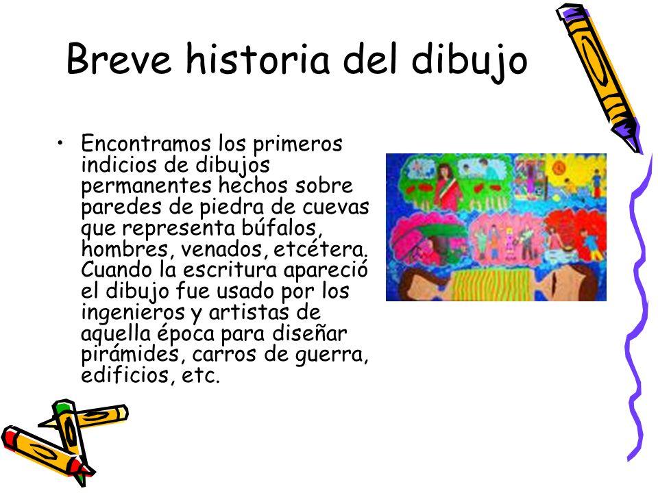 Breve historia del dibujo