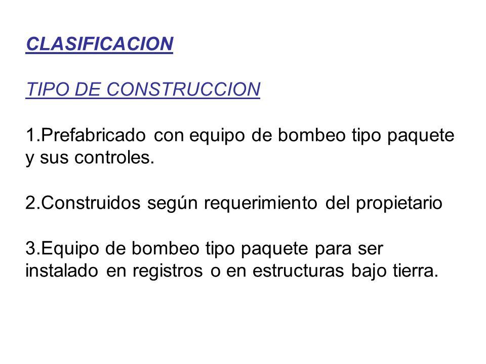 CLASIFICACION TIPO DE CONSTRUCCION 1