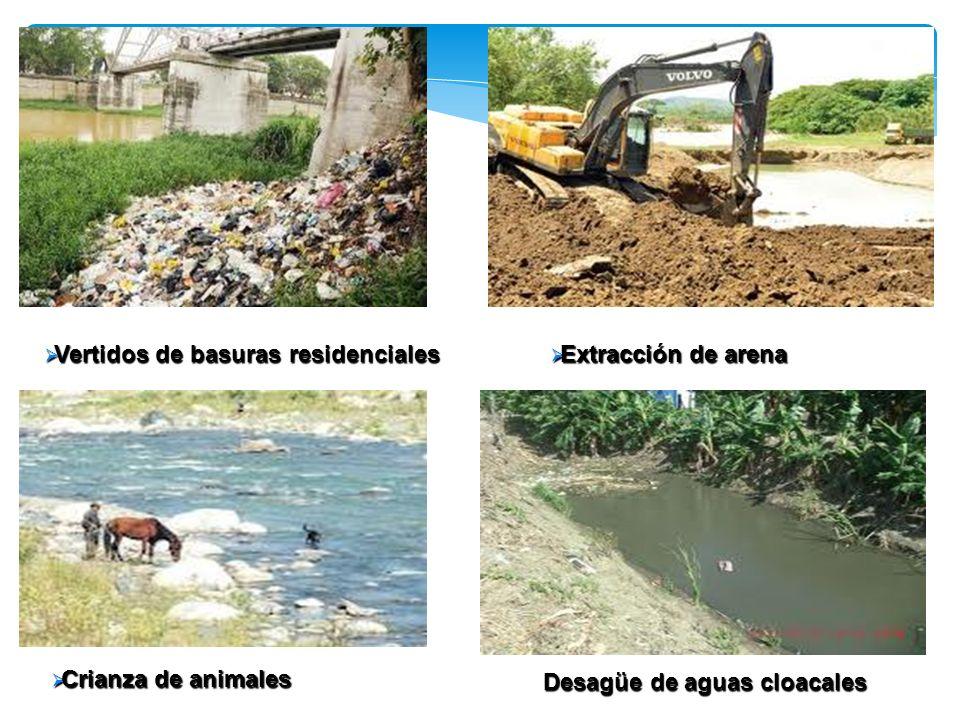 Vertidos de basuras residenciales