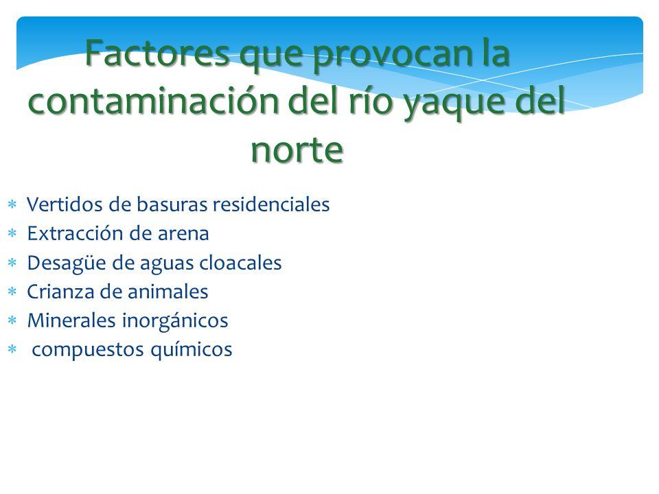 Factores que provocan la contaminación del río yaque del norte