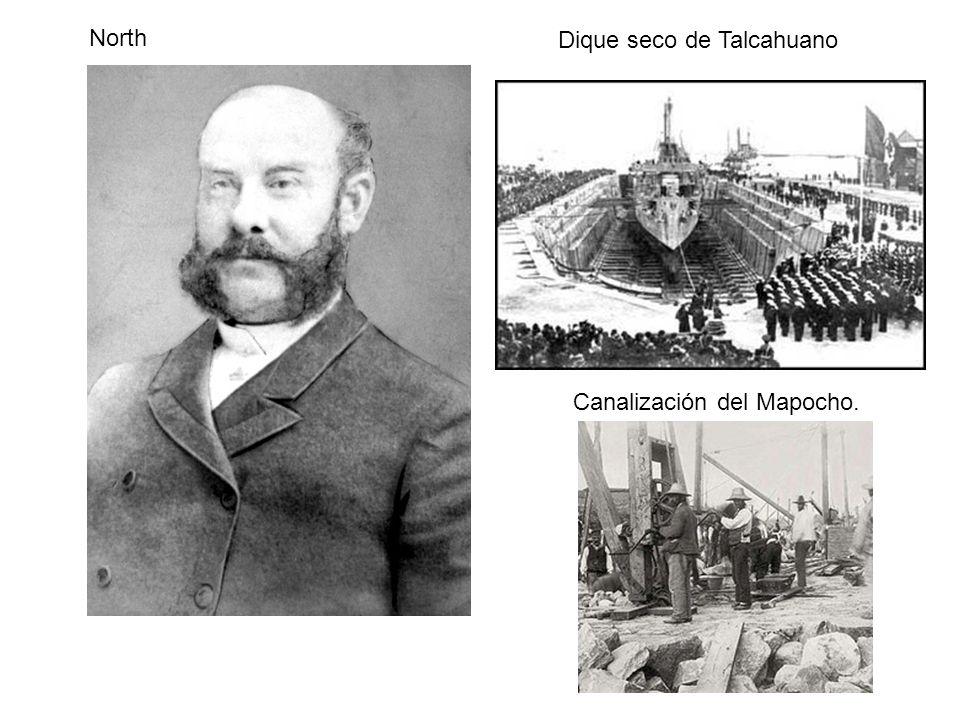 North Dique seco de Talcahuano Canalización del Mapocho.