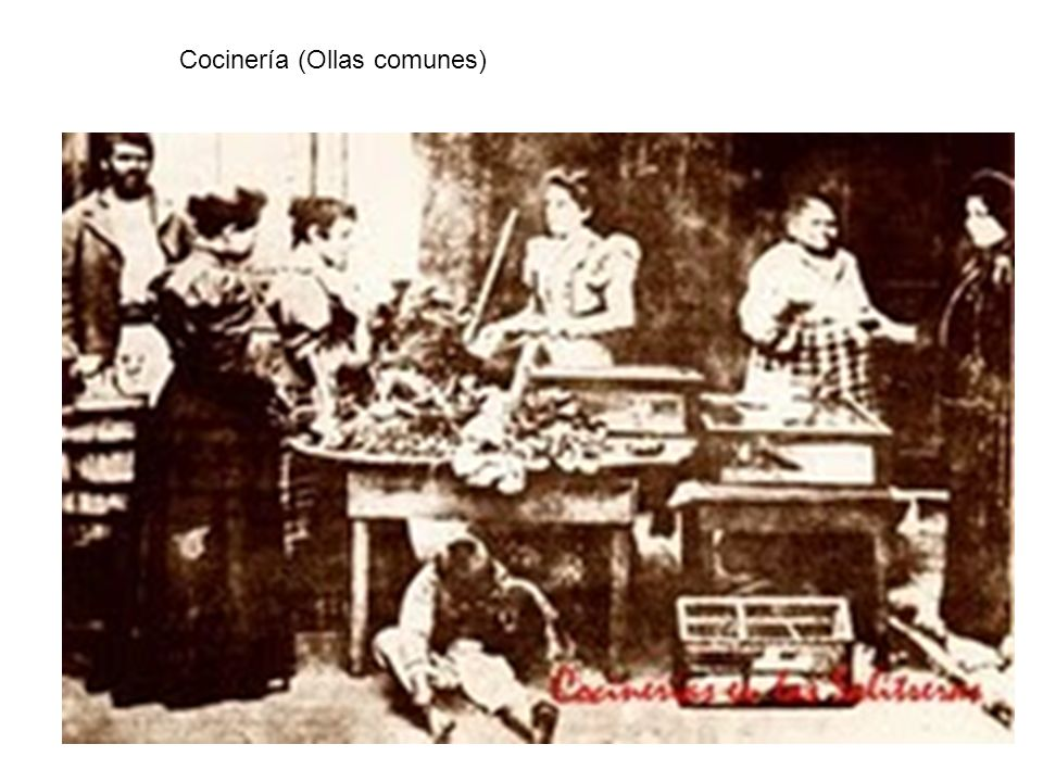 Cocinería (Ollas comunes)