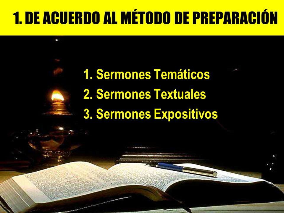 1. DE ACUERDO AL MÉTODO DE PREPARACIÓN