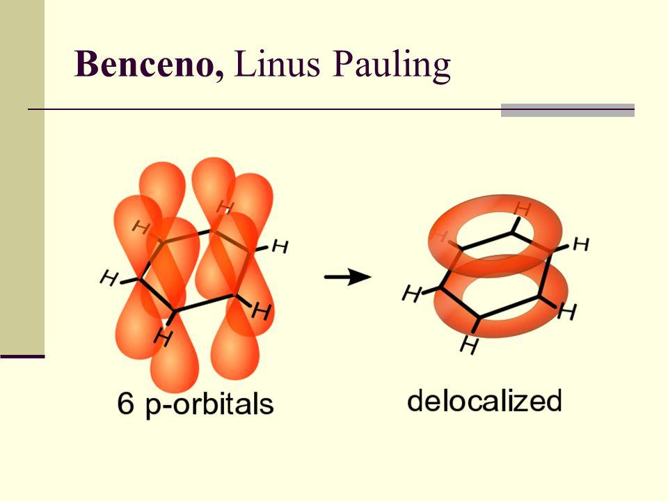 Benceno, Linus Pauling