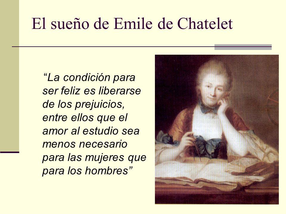 El sueño de Emile de Chatelet