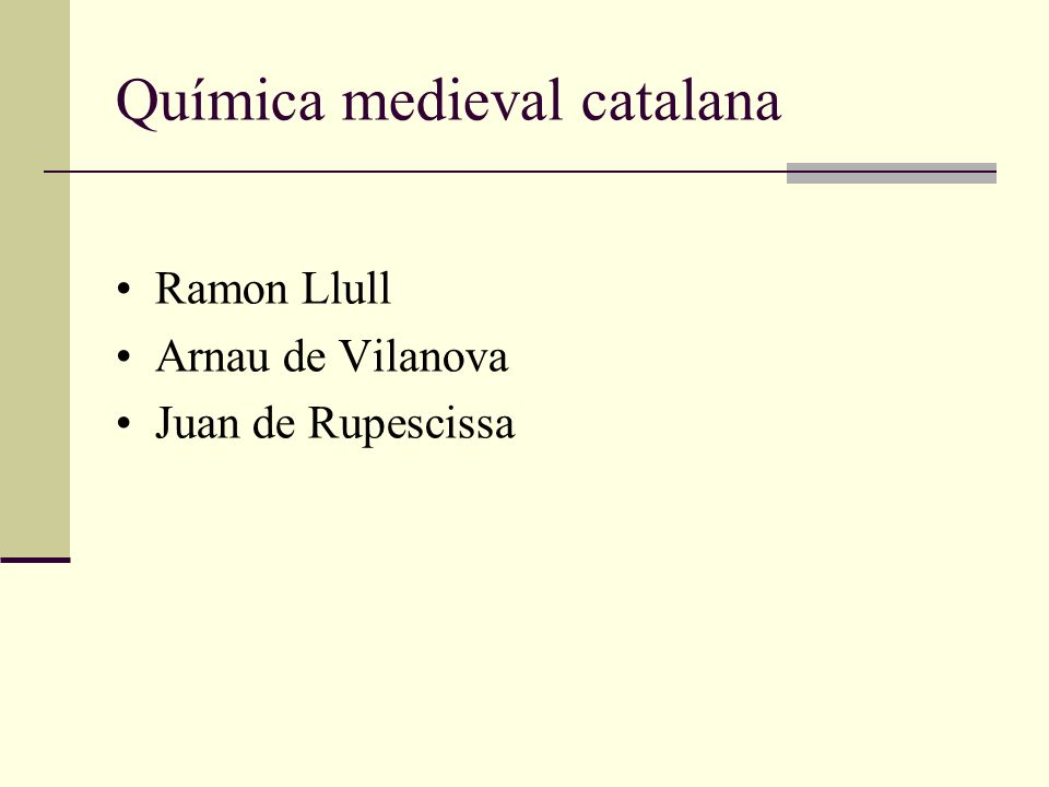 Química medieval catalana
