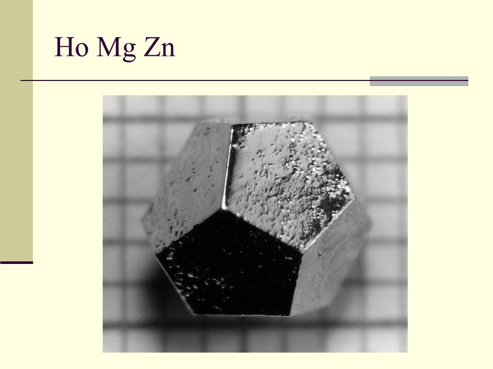 Ho Mg Zn Holmio
