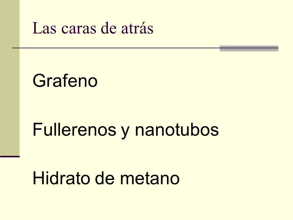 Fullerenos y nanotubos Hidrato de metano
