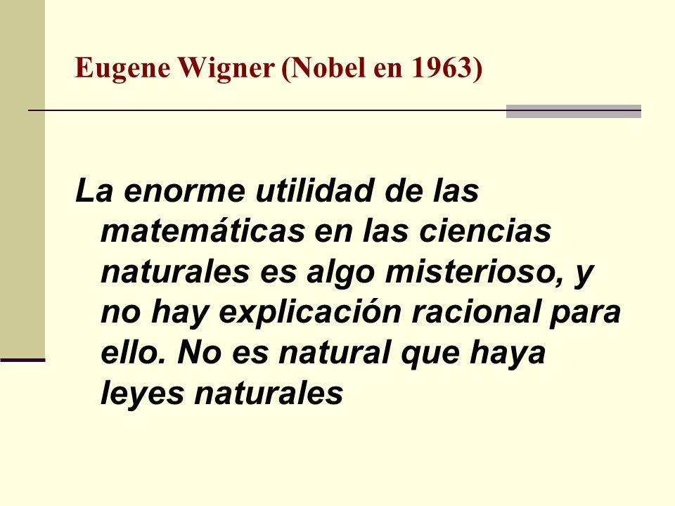 Eugene Wigner (Nobel en 1963)