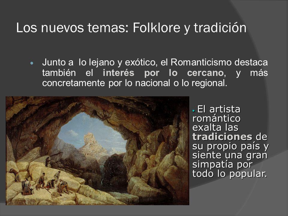 Los nuevos temas: Folklore y tradición