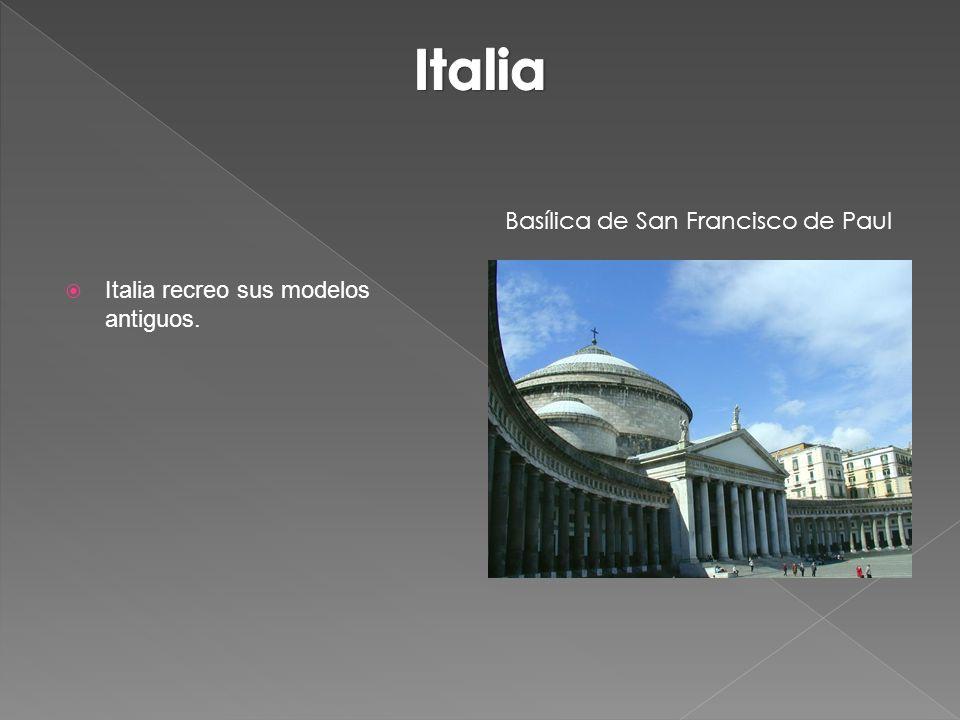 Italia Basílica de San Francisco de Paul